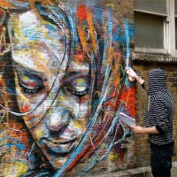Les portraits colorés de David Walker !