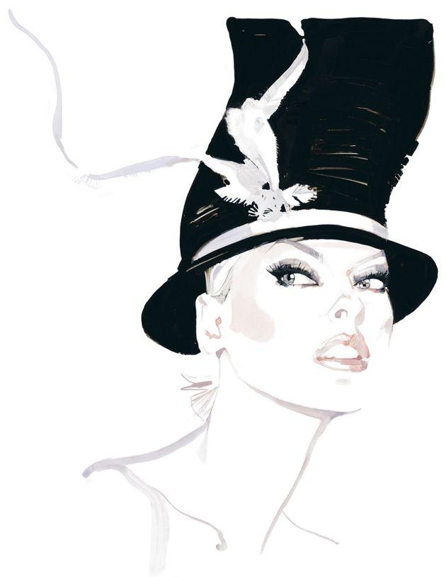 David Downton - Illustrateur de mode ! (1/6)
