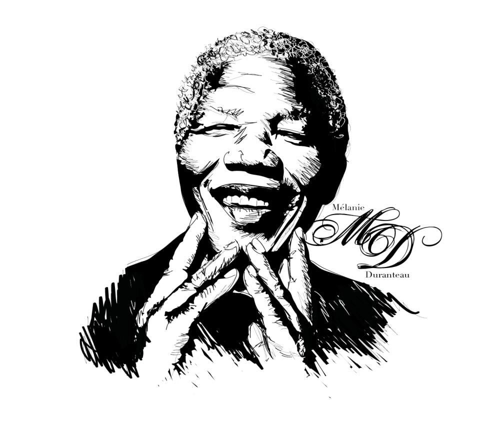 New Dessin - Nelson Mandela