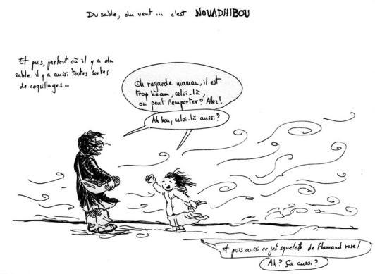 Mauritanie 2014 - Nouadhibou et le vent
