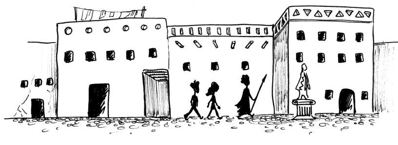 Le Portail - Œdipe à Thèbes