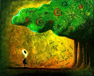 Arthur et la forêt - Pastel gras