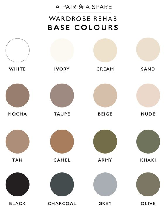 Neutral colours