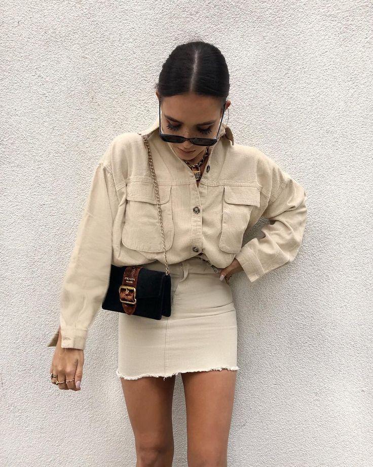 Beige beige beige 🍪 Wearing @boohoo - code LISSY20 Shirt DZZ06307