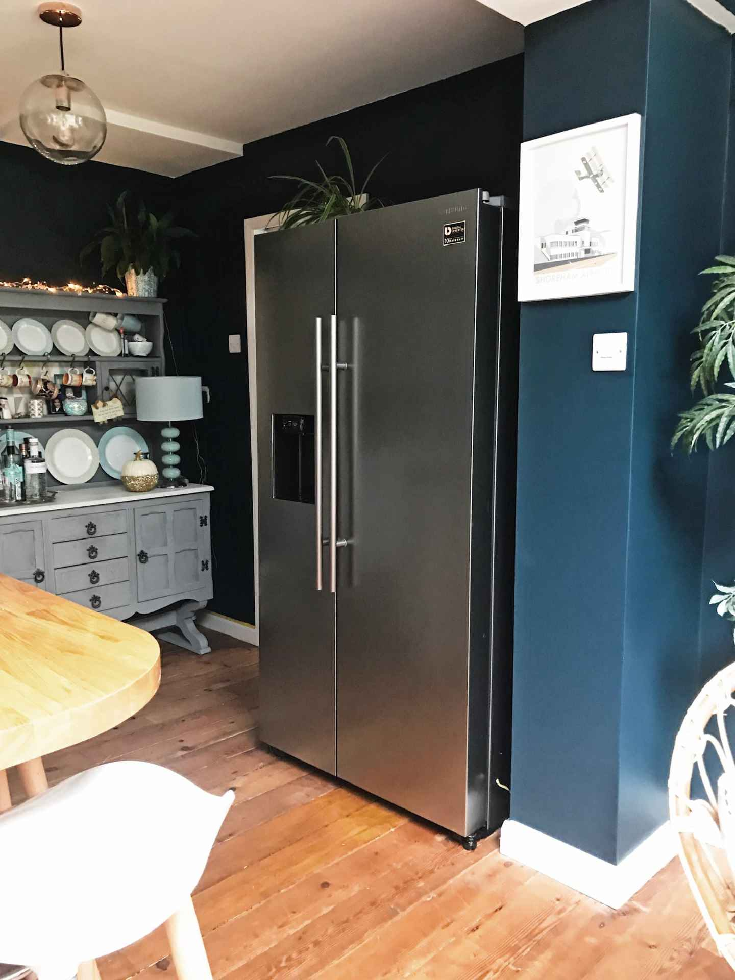 How our Samsung RS8000 fits perfectly into our kitchen