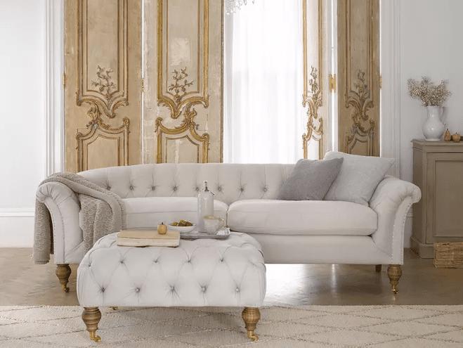 The beautifully regal  Humphrey  sofa