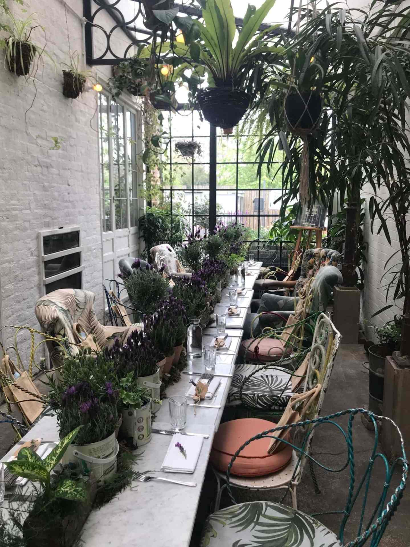 The stunning Cuprinol event held at the Bourne and Hollingsworth Buildings in Clerkenwell