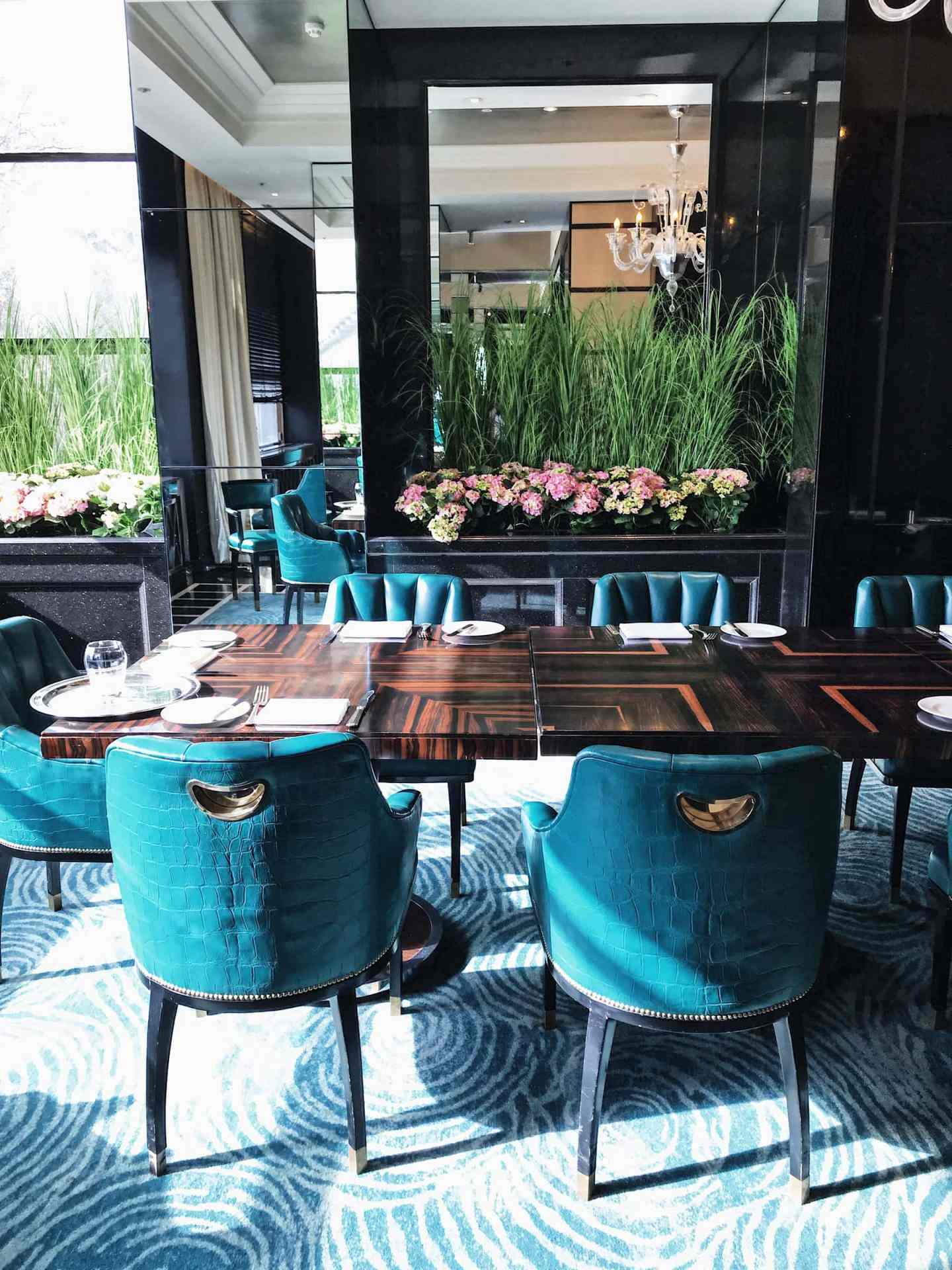 Kaspar's dining area