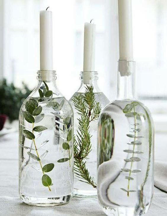 Foliage in Bottles -  www.elle.fr