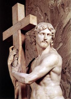 Christ Carrying the Cross by Michelangelo,