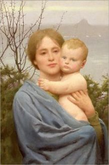 Madonna-of-the-mount-Thomas Cooper Gotch