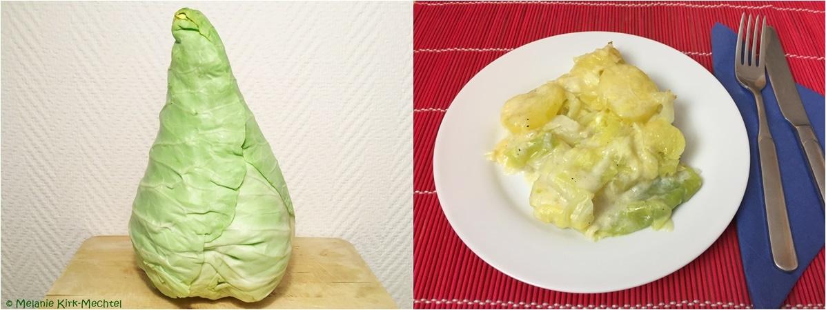 Rezept Spitzkohl-Kartoffel-Auflauf