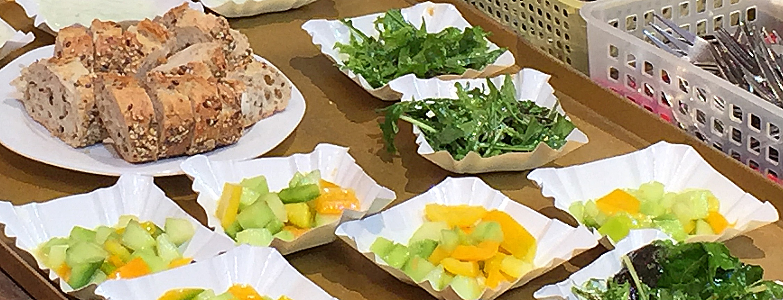 Salat Schälchen