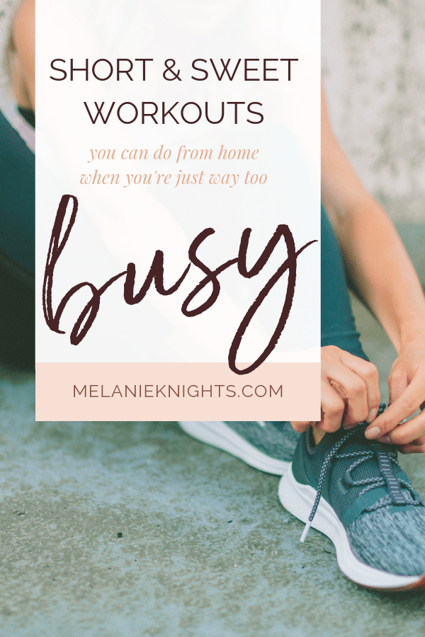 As busy solo business owners -- and moms -- time never feels like it's on our side. Often it can feel like you just don't have a minute left, let alone 60 to workout. Our guest this week is Stacy Hobson, a personal trainer, online business owner and badass Mom. She's teaching us how we can fit fitness into our busy schedules and get the most from these quick workouts.