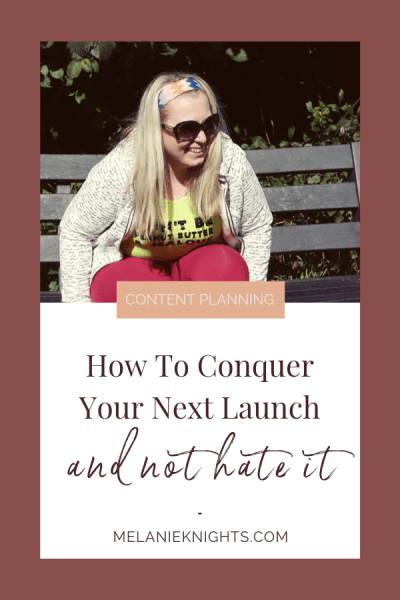 How To Conquer Your Next Launch And Not Hate It