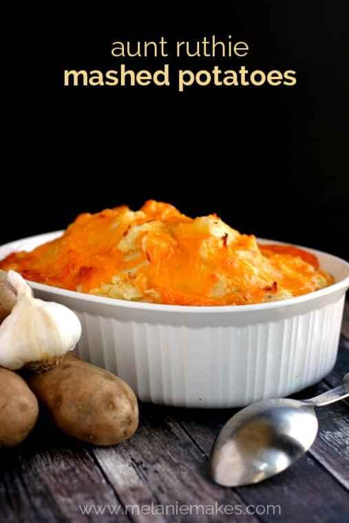 Aunt Ruthie Mashed Potatoes | Melanie Makes melaniemakes.com