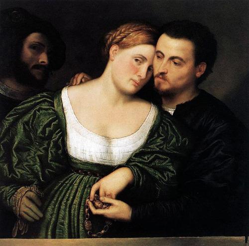 Paris Bordone, The Couple, Pinacoteca di Brera, Milan