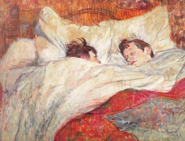 Toulouse-Lautrec, The Bed, 1920s, Musee d'Orsay, Paris
