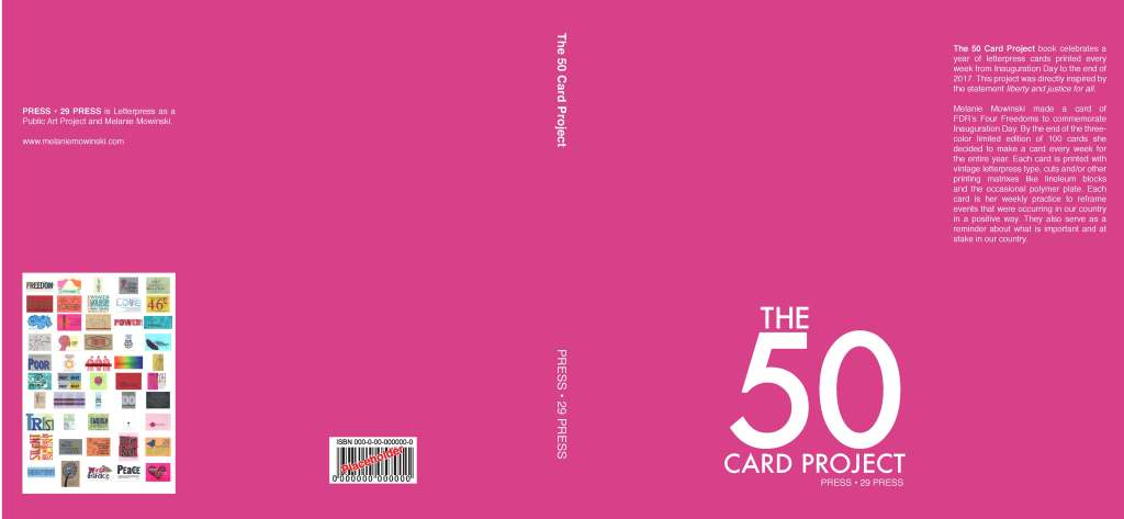 The 50 Card Project Cover