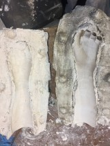 The finished mold