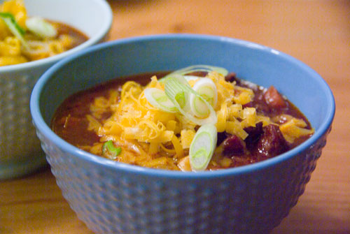 Chili. Hot stuff for cold days.
