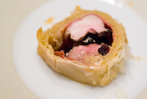 Pork Wellington. Another tribute to Alton Brown.