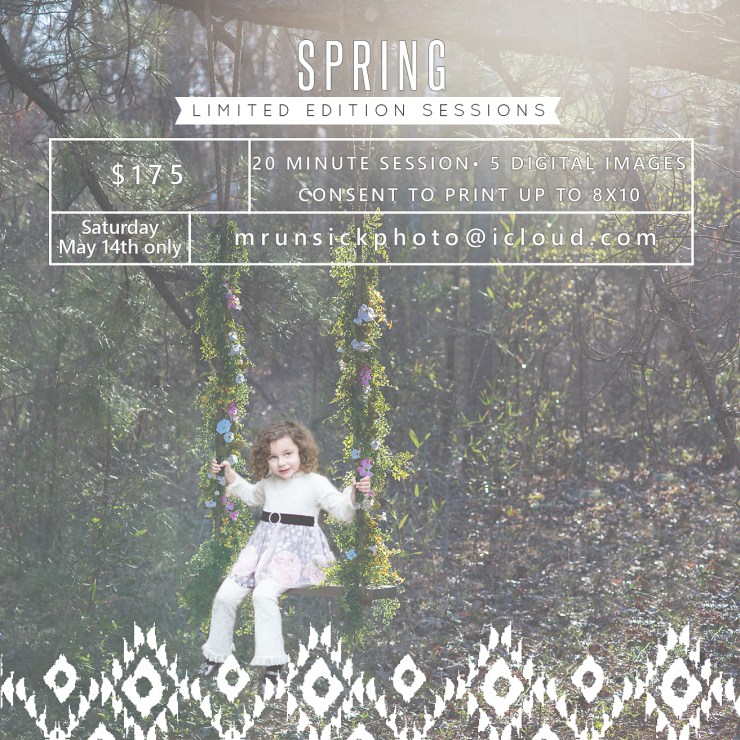 Melanie Runsick Photography Jonesboro Arkansas Photographer Spring Limited Edition Sessions.jpg