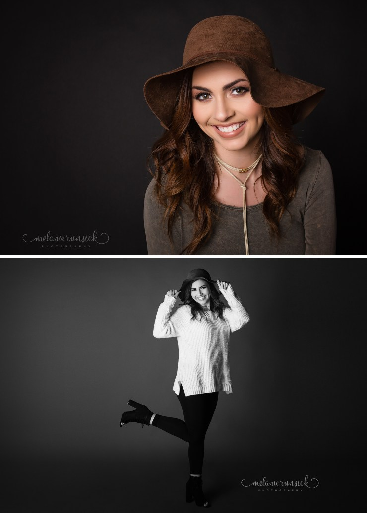Senior Girl In-Studio Session Jonesboro Arkansas High School Photographer Melanie Runsick