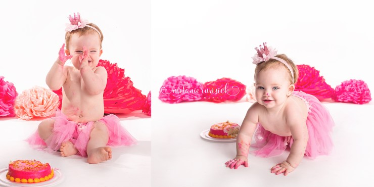Melanie Runsick Photography Jonesboro Arkansas Children's Photographer Cake Smash Session