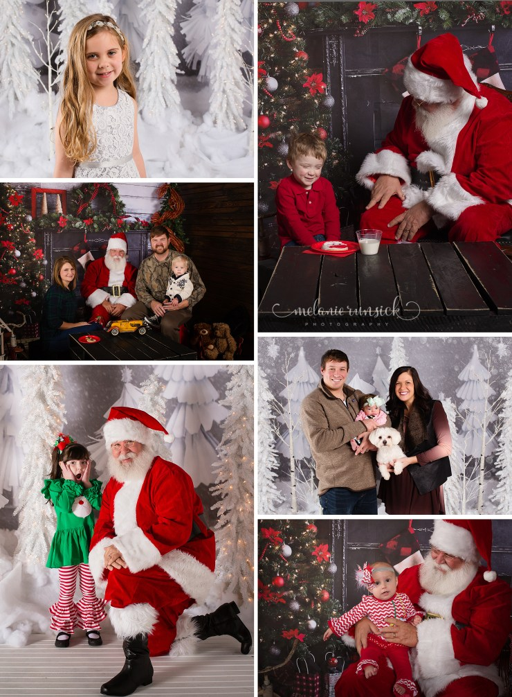 Cookies with Santa Jonesboro Arkansas Melanie Runsick Photography
