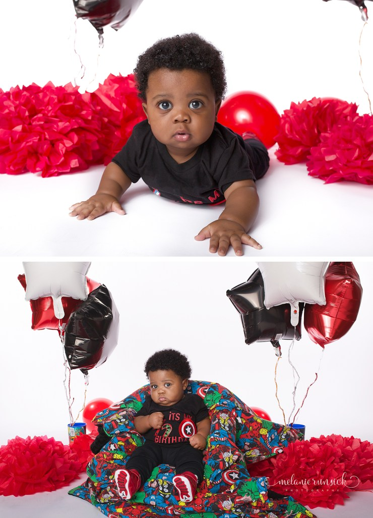 Melanie Runsick Photography Jonesboro Arkansas Children's Photographer Cake Smash Photographer 6 month Session