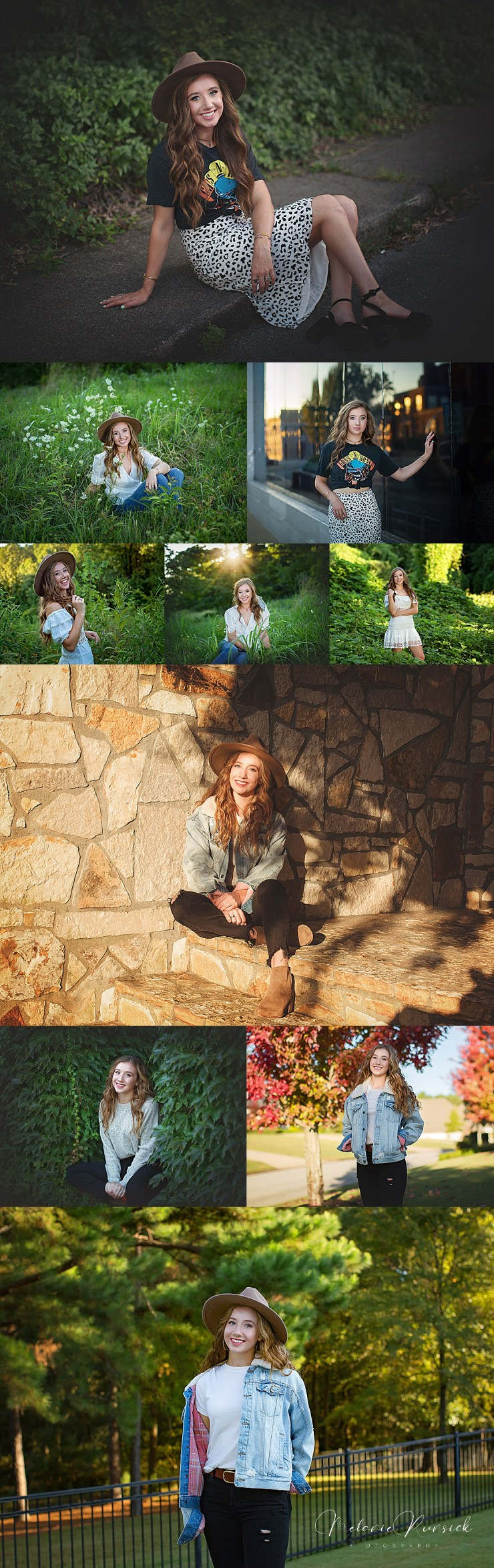 Arkansas Senior Photographer Melanie Runsick Photography Jonesboro AR