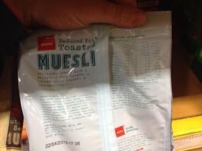 reduced fat muesli