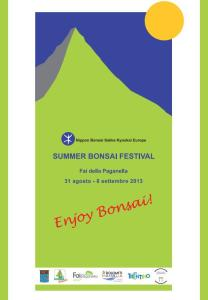 Summer Bonsai Festival