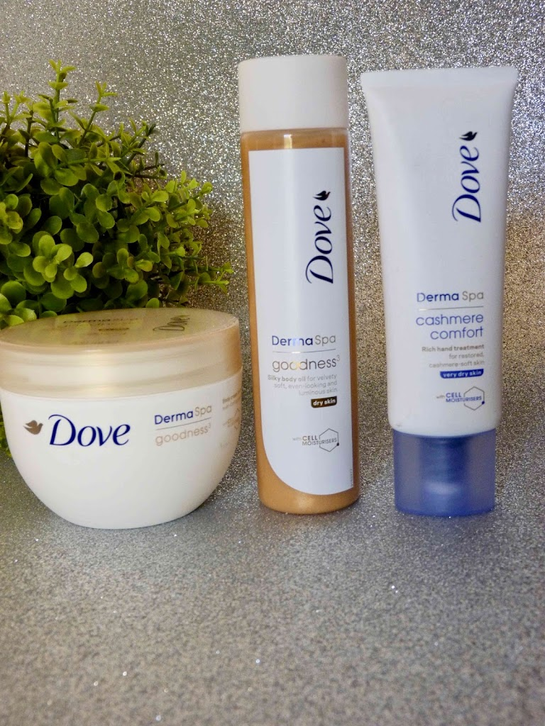 Review : Dove DermaSpa Range