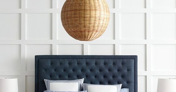 Currently Obsessed: Rattan pendant lights