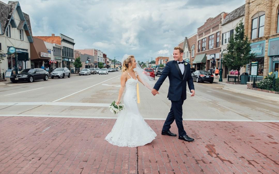 Metro-Detroit Wedding: Kasia + David