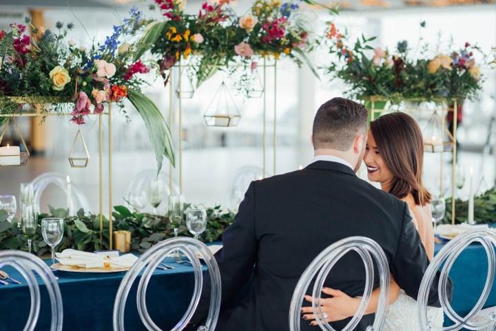 Something Blue // Styled Wedding