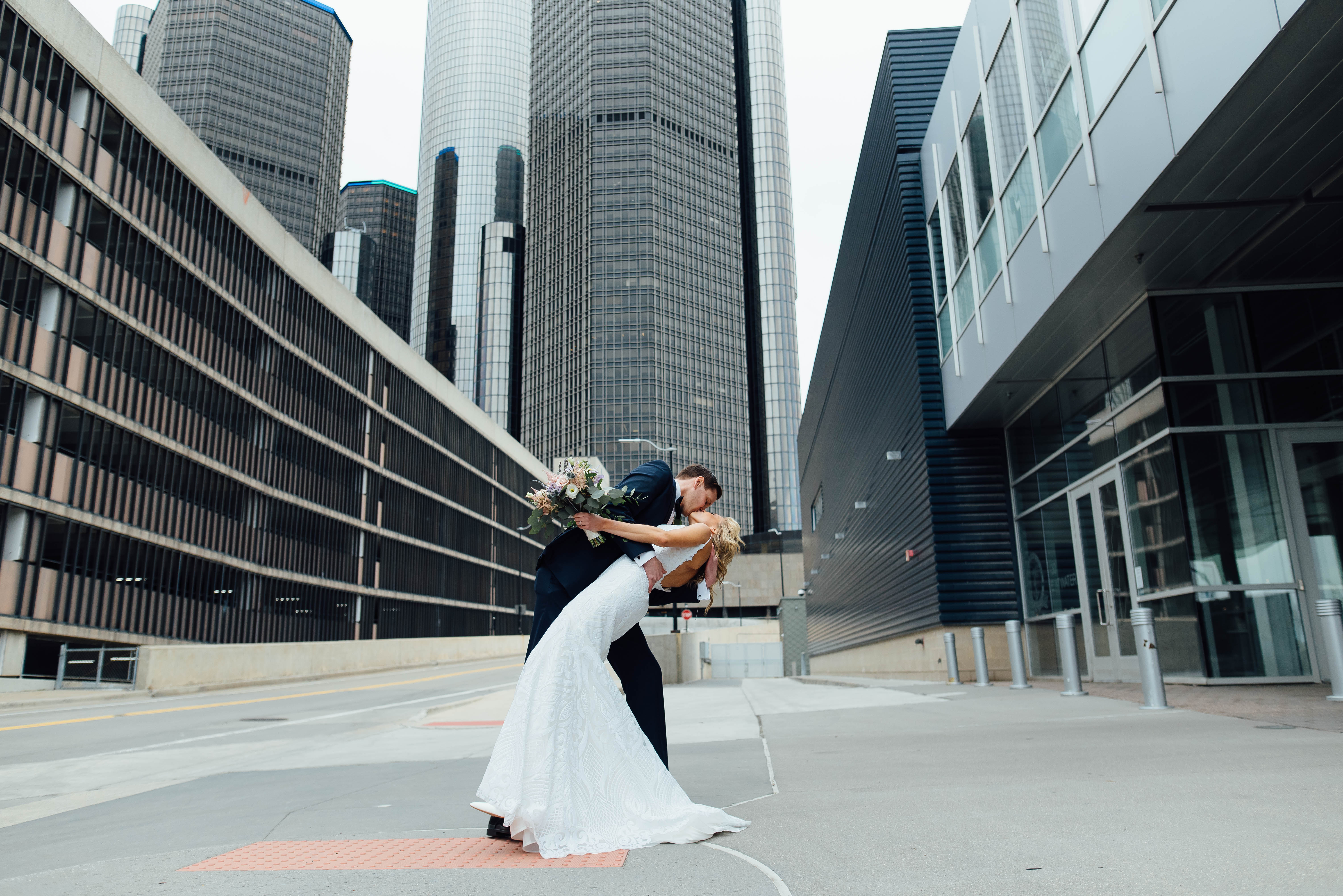 Caiti + Dave // Waterview Loft Wedding