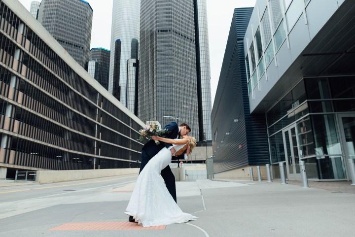 Caiti + Dave // Waterview Loft Wedding