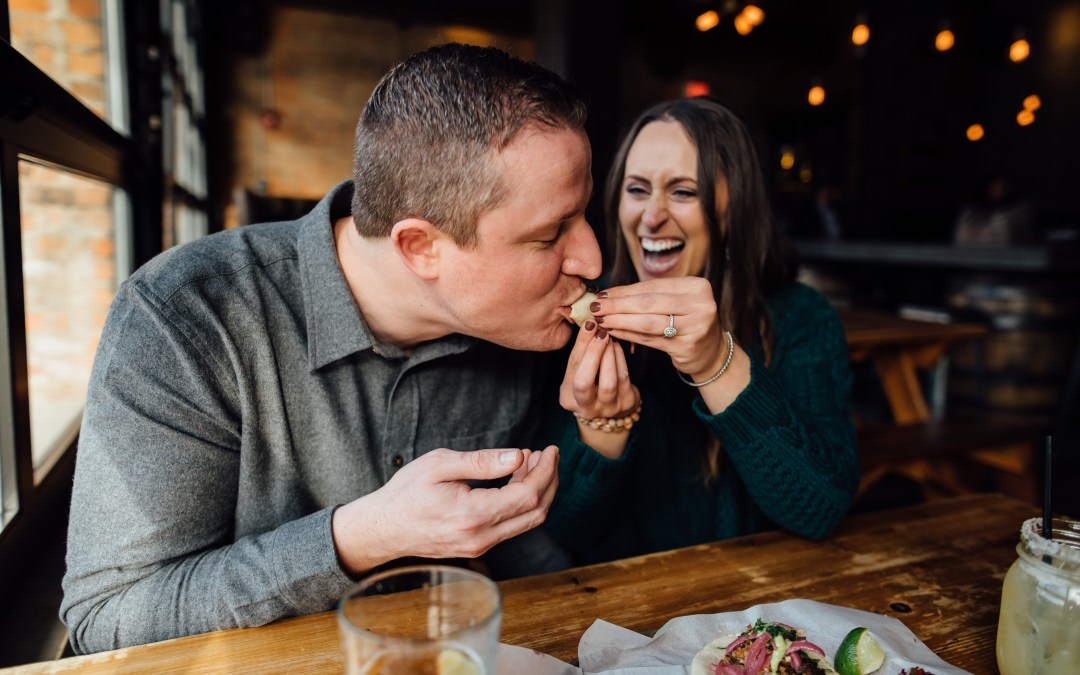 Alex + John // Detroit Engagement