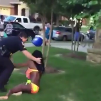 Pigs Pulls Gun & Attacks Innocent Black Teens At Pool Party In Texas