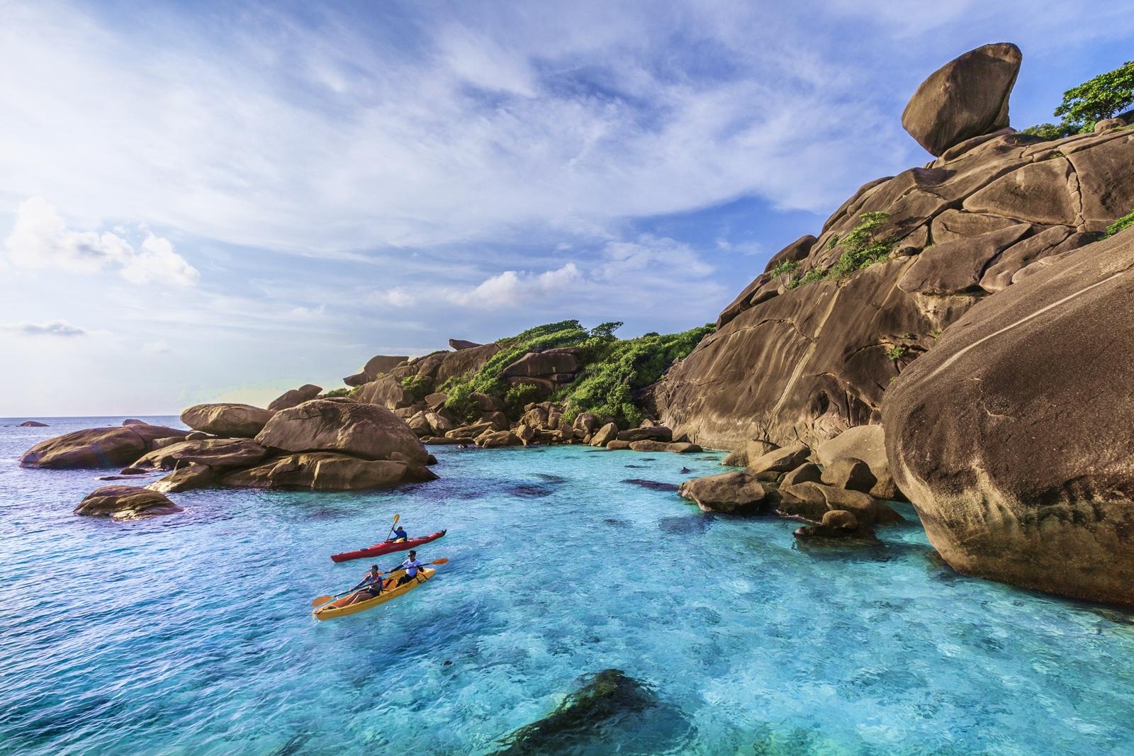 Ko Pad (The Eighth Island) of Mu Ko Similan National Marine Park, Phang-Nga