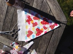 crafting in the sun