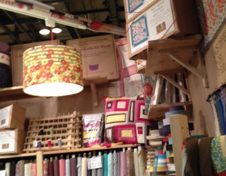 Fabric and crafting stalls
