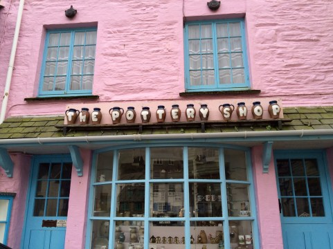 The pottery shop, adore the pink