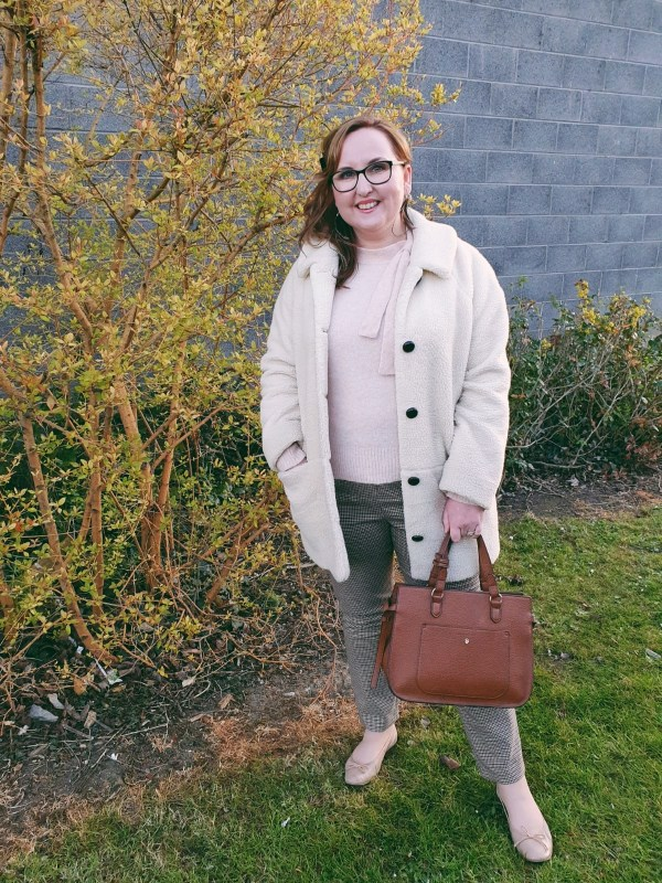 Sezane knitwear and coat