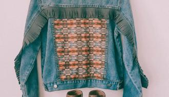 boho fringe jacket, western fashion