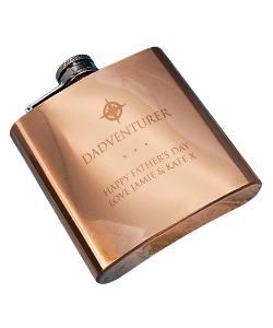Adventurer Copper Hip Flask