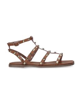 Kurt Geiger Studded Tan Flat Sandals 250x300 blog minis template
